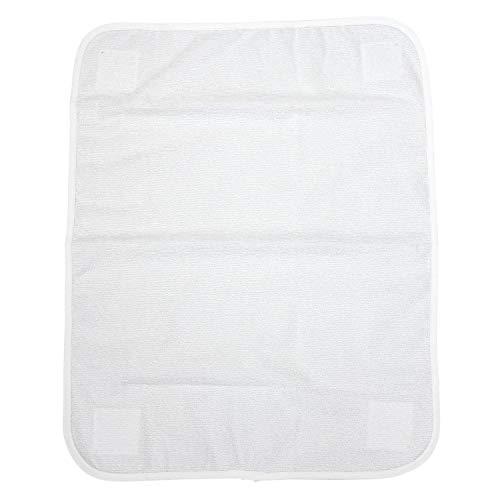 TupTam Ersatztuch für Wickelauflage Modell MAR02579, Farbe: Weiß, Größe: 44x58cm (Größen 70x70, 76x76)