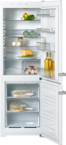 Miele KDN 12823 S-1 Kühl-Gefrier-Kombination / A+ / Kühlen: 232 L / Gefrieren: 89 L / Weiß / NoFrost - nie wieder abtauen / ComfortClean - hygienische Reinigung