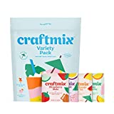 Craftmix Cocktail Mix Variety Pack (Mai Tai, Margarita, Mule, Paloma Flavors) Skinny Natural Low...