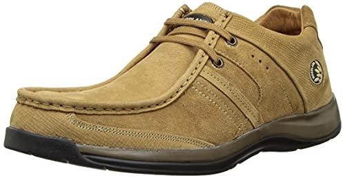 Woodland Men's Camel Leather Sneaker-9 UK (43 EU) (OGC 2838118)