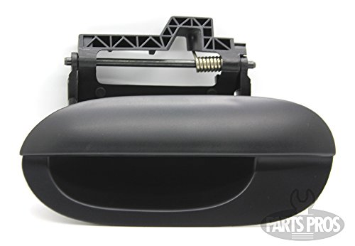 LatchWell PRO-4002320 Driver Side Rear Exterior Door Handle in Smooth Paintable Black for Listed BMW E-39 Models