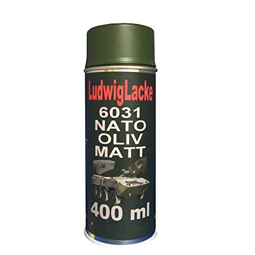 NATO Oliv MATT 1 Spraydose 400ml RAL 6031 Profiqualität