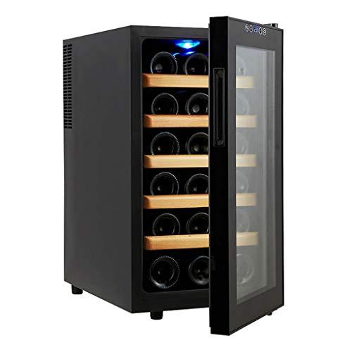 FPigSHS Armarios para Vino Botelleros Temperatura Constante Enfriador de Vino Termostato electrónico Gabinete de Vino Hogar Barra de Hielo