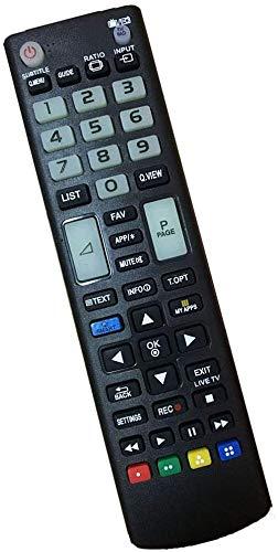 Nuovo Telecomando Compatibile universale TV LG - Adatto per LG Smart TV/HDTV/LCD/LED AKB75095308 AKB74915324 AKB75375608 AKB69680403 AKB72915207 AKB73