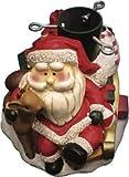giocoplast Christbaumständer mit Weihnachtsmann und Rentier 32