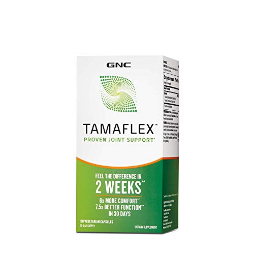 GNC TAMAFLEX, Proven Joint Support - Feel The Difference in 2 Weeks - 60 Veg.Capsules