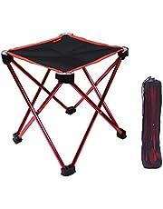 アウトドアチェア折りたたみ椅子コンパクト イス 持ち運び キャンプ用軽量 収納バッグ付き 折りたたみチェア レジャー 背もたれなし