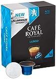 Café Royal 36 Lungo Nespresso®* kompatible Kapseln aus Aluminium - Intensität 4/10 - Großpackung...