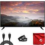 VIZIO V-Series 70-Inch 2160p 4K LED HDR UHD Smart TV (V705-H13) HDMI, USB, Dolby Vision HDR, Voice Control Bundle with Circuit City 6-Foot HD 4K HDMI Cable, Microfiber Cloth and 2X Cable Ties