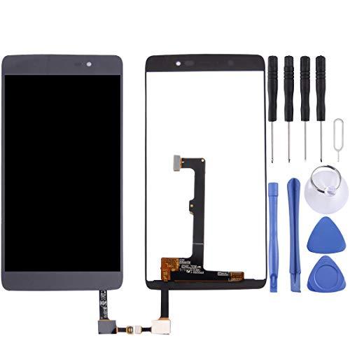 Zhangl Reparación de Repuesto For Alcatel Idol 4/6055 / 6055i / 6055h / 6055k / 6055v Pantalla LCD Ensamblaje de Pantalla táctil digitalizador Reparación de Repuesto (Color : Black)