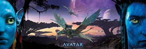 Avatar Landscape deurposter 153 x 58