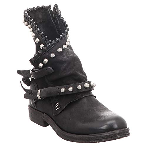 AS98 | Airstep | Biker Boot - schwarz | Nero, Farbe:schwarz, Größe:37