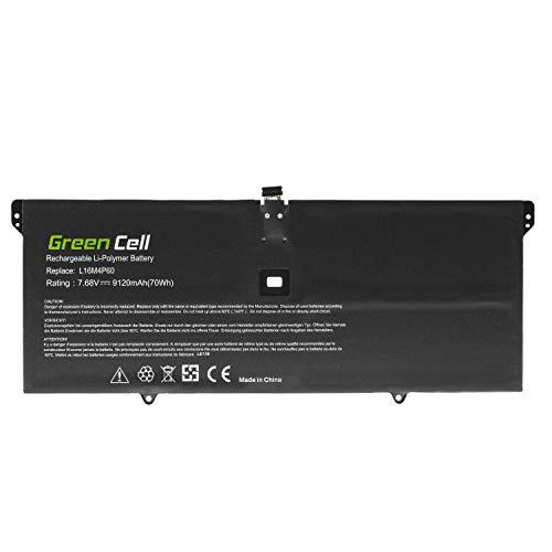 Green Cell® L16C4P61 L16M4P60 Laptop Akku für Lenovo Yoga 920-13IKB (Li-Polymer Zellen 9120mAh 7.68V)