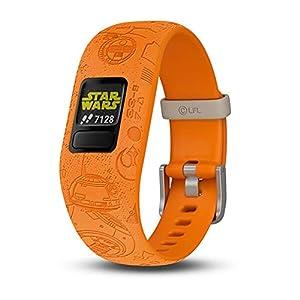 Garmin Vivofit Jr 2 Kids Star Wars Light Side vs Dark Side Silicone Band Fitness/Activity Tracker Smart Watch