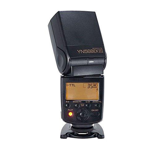 YONGNUO YN568EX III Wireless TTL Master Slave Flash Speedlite 1 / 8000s Sincronización de...