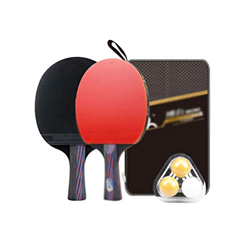 Why Should You Buy LFLLFLLFL Daily Training Ping Pong Racket, Table Tennis Racket Set Home Leisure S...