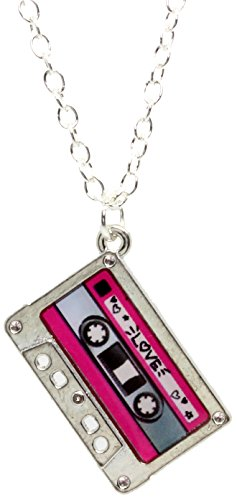 Bluebubble Hey DJ Tape Necklace Gift Boxed