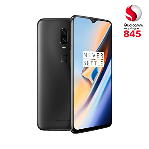 OnePlus 6T - Smartphone 8GB+256GB, Color Negro (Midnight Black)