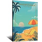 Fuerteventura Poster Kanarische Insel Spanien Vintage Reise