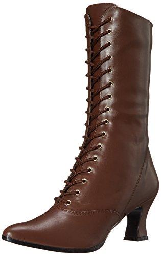 Heels Club Damen VICTORIAN-120 Stiefel, braun, 40 EU