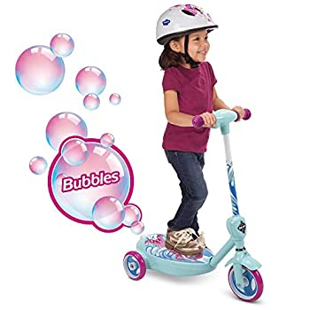 Huffy 6V 2 in 1 Bubble Scooter  Mermaid  Girls Toy