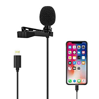 Microphone Professional for iPhone/Video Conference/Podcast/Voice Dictation/Youtube Grade Valband Omnidirectional Phone Audio Video Recording Condenser Microphone