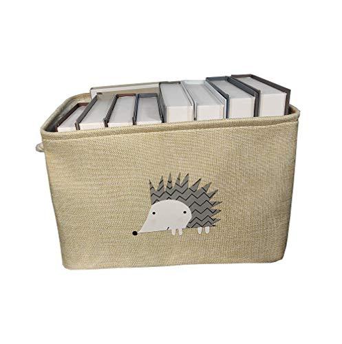 Cajas Cubo de almacenamiento plegable grande Caja de almacenamiento Lindo Lavandería de la ropa Manta de la ropa Manta de la ropa de los juguetes Cestas de almacenamiento Bandeja para los juguetes de
