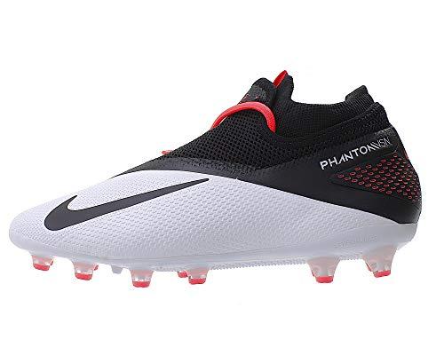 Nike Herren Fußballschuh Phantom Vision 2 Pro Dynamic Fit Ag-Pro Kunstrasen, Farbe:Weiß, Größe:EUR 40.5