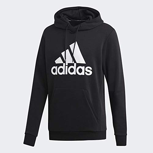 Adidas MH Bos Po Ft, Sweatshirts Uomo, Black/White, M
