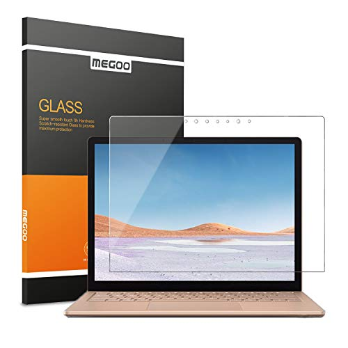 MEGOO Tempered Glass Screen Protector For Microsoft Surface Laptop 3 (15 inch), Easy Installation, Anti-Scratch, High Transparency Screen Protector