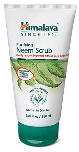 Himalaya Purifying Neem Scrub, Exfoliates and Purifies Skin, 5.07oz/150ml