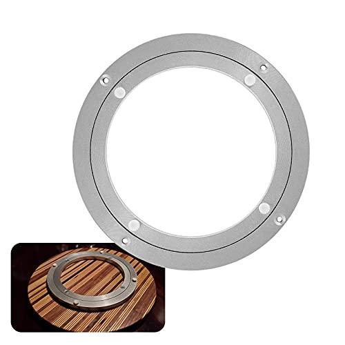 Rodamiento Giratorio para Mesa Comedor De Cocina, Cojinete De Placa Giratoria Fácil De Usar, Base Placa Giratoria Plataformas Giratorias para TV, 300 350 500mm