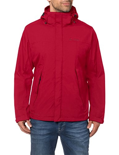 VAUDE Herren Jacke Escape Light Jacket, indian red, XL, 043416145500