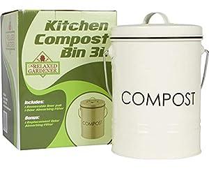 The Relaxed Gardener Kitchen Compost Bin