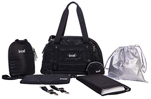 Tap. Sac Repas 7 Poches 2 Compartiments a Large Ouverture zipp/ée Sac Urban Classic Black Baby on board- Sac a Langer