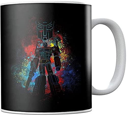 Autobot Optimus Prime Transformers - Taza de té de cerámica, diseño de Transformers