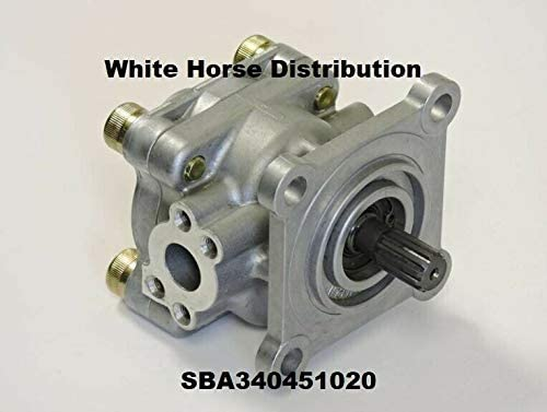 WHD Power Steering Pump - Sale Boomer Holland New 3040 Product for