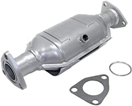 EvanFischer REPH960304 Silver Powder-Coated Catalytic Converter with Heat Shield