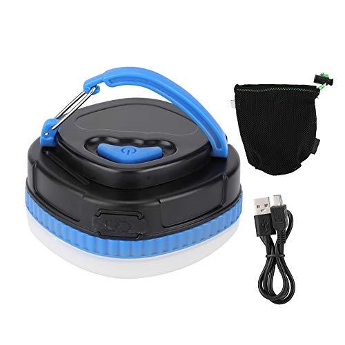 Bicaquu Lumière de Camping portative extérieure multifonctionnelle Rechargeable du Secours LED(Bleu)
