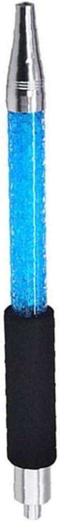 Shisha Manguera de Hielo congelación con congelación Tubería de la Boca Punta de la Cabeza Manija de la Cabeza Accesorios de enfriamiento Azul Hogar y jardín Patio Muebles de jardín al Aire