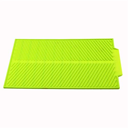 JYSLI Confort Plato de la Cocina for Guardar Copa de Secado del Estante del sostenedor del Organizador Escurridor secador de Bandeja Vajilla Herramienta Drainning Agua Caracteristicas (Color : Green)
