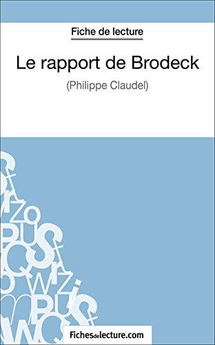 Le rapport de Brodeck: Analyse complète de l'oeuvre (French Edition)