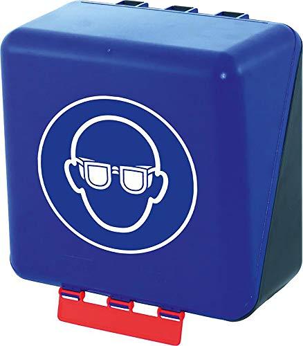 GEBRA Aufb.Box SECU Midi Standard f. Augenschutz blau