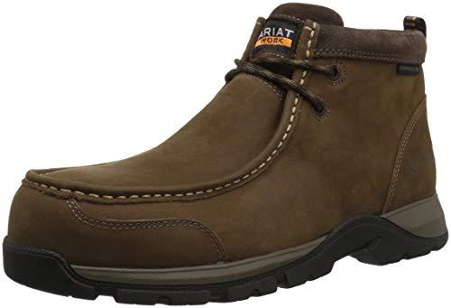 Ariat Work Men's Edge LTE MOC Composite Toe Western Boot, Dark Brown-1, 11 D US