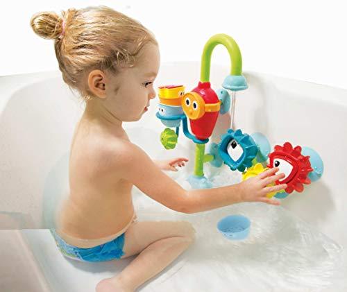 YOOKIDOO - La ducha multiactividades, juego de baño y ducha Yookidoo - Juguete educativo para bebé de 9 meses a 3 años