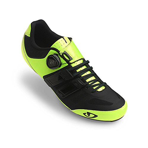 Giro Sentrie Techlace Shoe (Highlight Yellow/Black, 43)