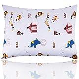 Toddler Pillow with Pillowcase, Eccomum Kids Pillow for Sleeping, Baby Pillow, Children from