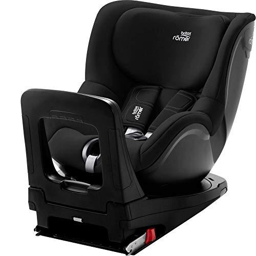 BRITAX RÖMER silla de coche DUALFIX Z-LINE i-SIZE, Giratoria a 360°, niño de 61 a 105 cm (Grupo 0+/1) de 3 meses a 4 años, Cosmos Black