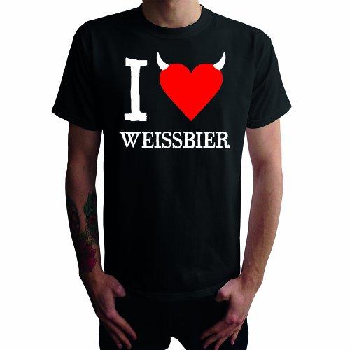 I Don't Love Weissbier Herren T-Shirt, schwarz, XL