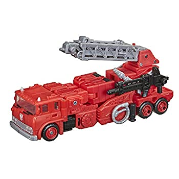Transformers Toys Generations War for Cybertron  Kingdom Voyager WFC-K19 Inferno Action Figure - Kids Ages 8 and Up 7-inch
